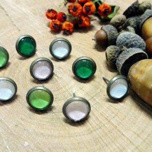 Cserszömörce Portékája - Szikrázó színek fülbevalók