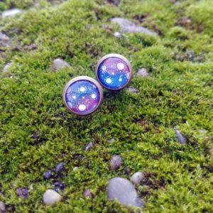 Cserszömörce Portékája - Galaxis fülbevaló